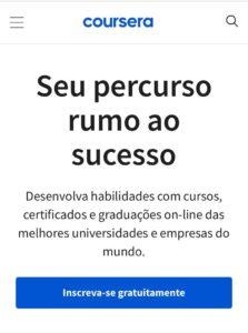coursera português enem