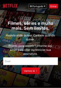 Netflix melhorar a leitura