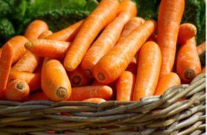 cenoura vitaminas para ajudar nos estudos