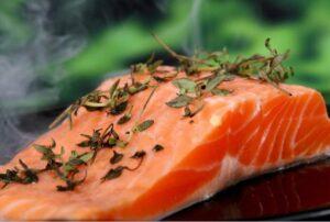 salmão vitaminas